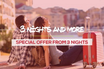 Offer 3 nights and more