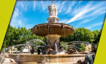 Aix-en-Provence - Les jardins de Galice