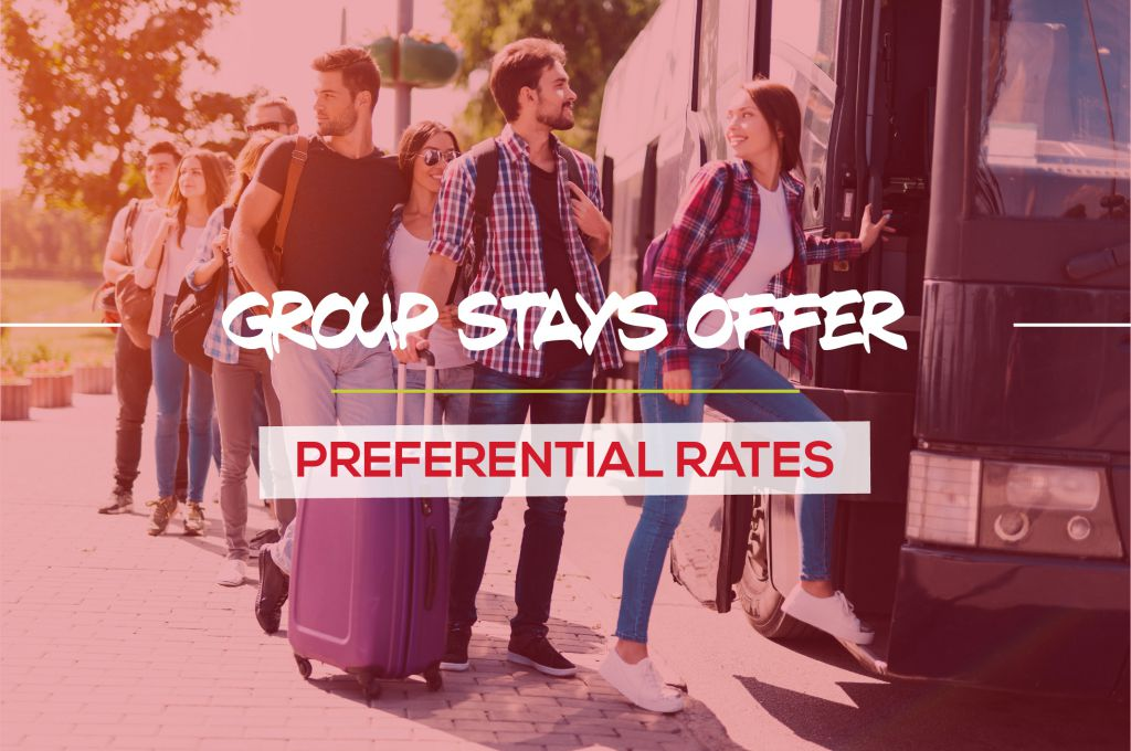Group stays offer